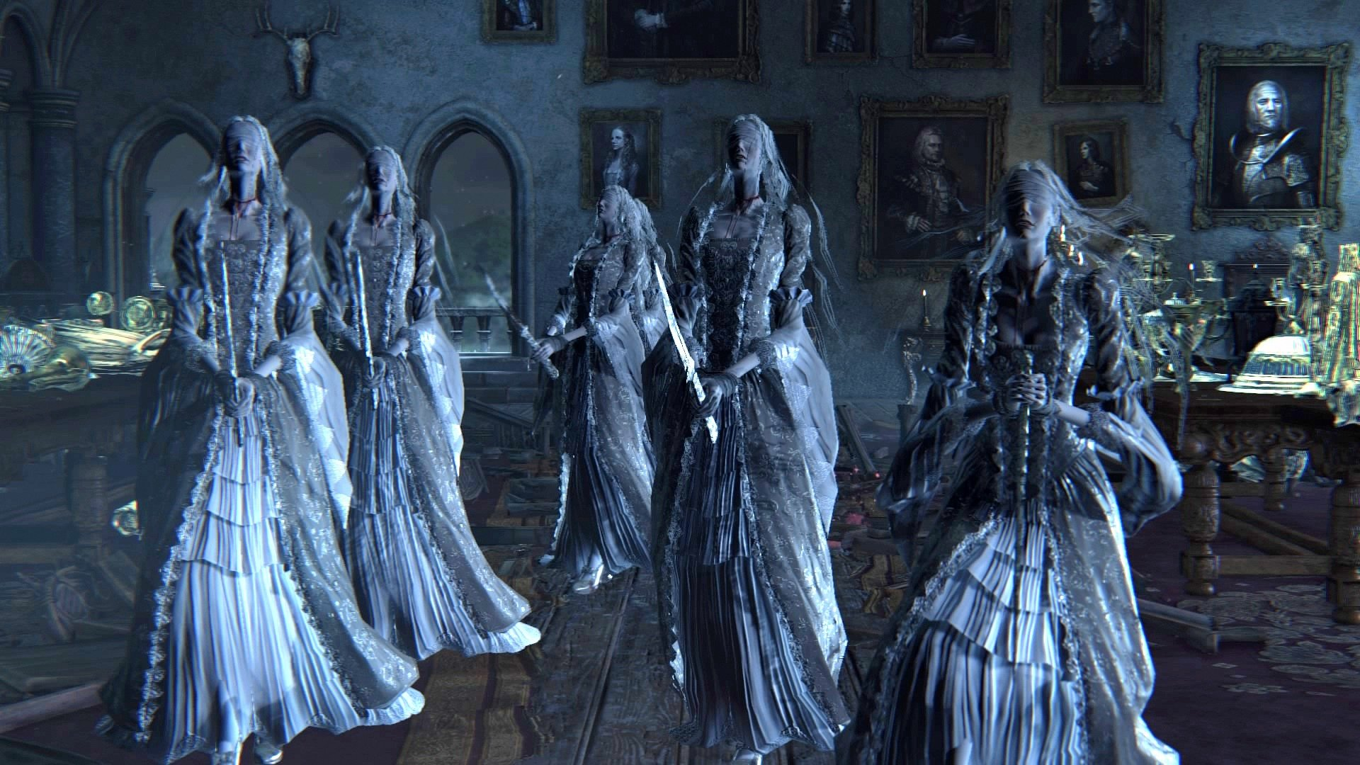 Silver Lady Undead Party